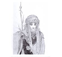 Amano in Grey Photographic Print