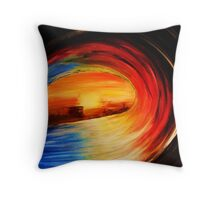 colour wheel Throw Pillow