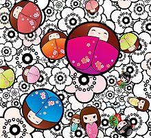 Kokeshi dolls by MaShusik