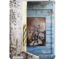 waiting for prey or the 501 iPad Case/Skin