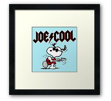 Snoopy Play Guitar Framed Print
