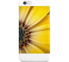 tiny insect on yellow daisy iPhone Case/Skin
