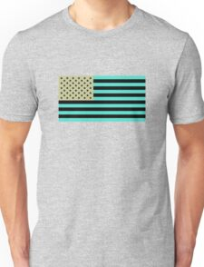 USA flag inverted color Unisex T-Shirt