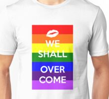 Pride. We Shall Overcome. Unisex T-Shirt
