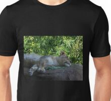 Sleeping Lioness Unisex T-Shirt