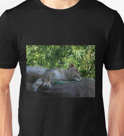 Sleeping Lioness Unisex T-Shirt
