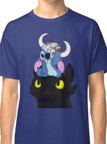 Stitch Viking Style Classic T-Shirt