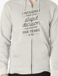 All My Friends Zipped Hoodie
