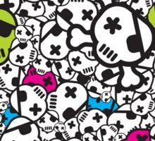 Funky Skulls Sticker