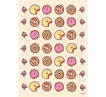 Donuts! Photographic Print