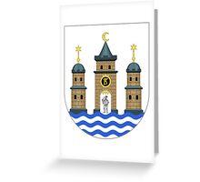 Lesser Coat of Arms of Copenhagen Greeting Card