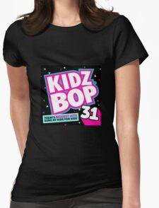 Kidz Bop 31 Logo! Womens Fitted T-Shirt
