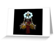 Overwatch - Zenyatta Stance Greeting Card