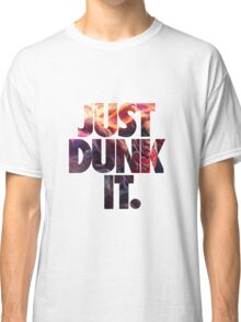 Just dunk it - Darius Dunkmaster Classic T-Shirt
