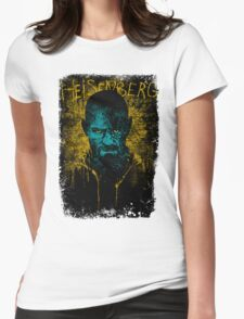 Heisenberg Graffiti Womens Fitted T-Shirt