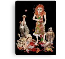 Heartless Girl Canvas Print
