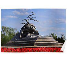 Merchant Marine Memorial Plate No.# V Poster