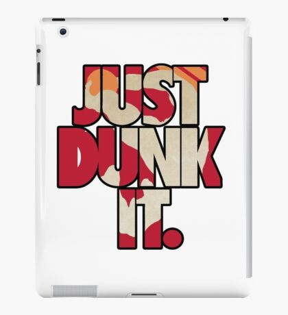 Just dunk it - Darius Dunkmaster 2 iPad Case/Skin