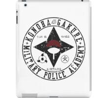 konoha police military iPad Case/Skin