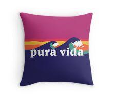 Pura Vida Throw Pillow