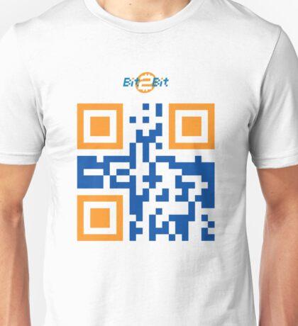 Bit2Bit.co QR Code Unisex T-Shirt