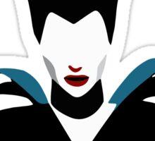 Maleficent Minimalism Sticker