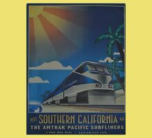 Vintage poster - Southern California One Piece - Short Sleeve