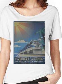Vintage poster - Southern California Women's Relaxed Fit T-Shirt