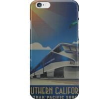 Vintage poster - Southern California iPhone Case/Skin