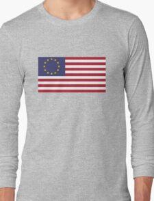 USA Euro Long Sleeve T-Shirt