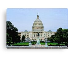 Capitol of the United States (Congress) Canvas Print