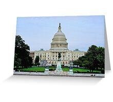 Capitol of the United States (Congress) Greeting Card