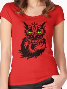 A Dark Owl Women's Fitted Scoop T-Shirt