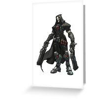 Overwatch - Reaper Art Greeting Card