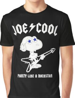 Snoopy Joe Cool Rock Graphic T-Shirt