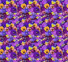Pansies Galore  by LoneAngel