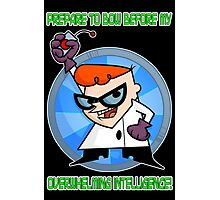 Dexter's Laboratory  Photographic Print