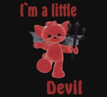 I`m a little devil Kids Tee