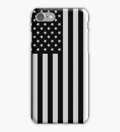 USA Dark Flag iPhone Case/Skin