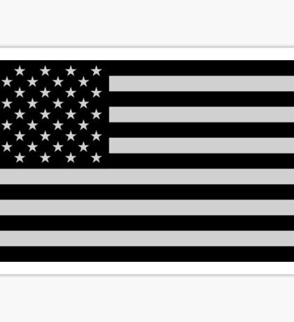 USA Dark Flag Sticker
