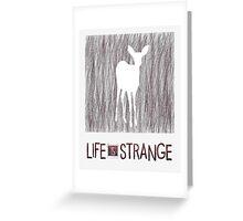 Inverted sketch - Doe (Life is Strange) Greeting Card