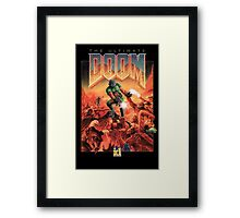 Doom Framed Print