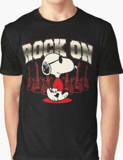 Snoopy Rock Graphic T-Shirt