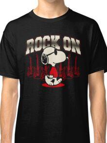 Snoopy Rock Classic T-Shirt