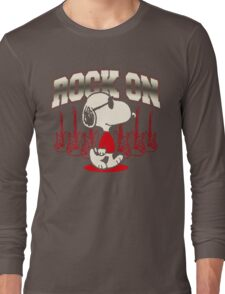 Snoopy Rock Long Sleeve T-Shirt
