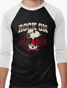 Snoopy Rock Men's Baseball ¾ T-Shirt