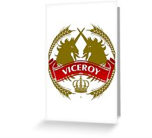 The Viceroy Coat-of-Arms Greeting Card
