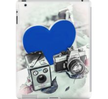 I ♥ Photography Blue iPad Case/Skin