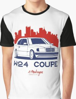 Mercedes Benz W124 Coupe Graphic T-Shirt