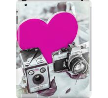 I ♥ Photography Pink iPad Case/Skin